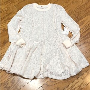 Free People Coffee In The Morning Tunic Size Small